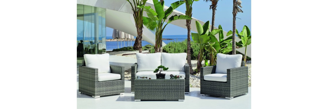 Salon de Jardin SOFA DOHA-7
