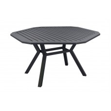 Table A Manger Brasi 150 En Aluminium Anthracite