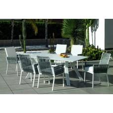 Table À Manger Andes-210-Krion Finition Blanc