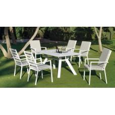 Table À Manger Samara-180 Finition Blanc