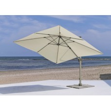 Parasol Gabana-33 Finition Mat Champagne Tissus Toile Beige