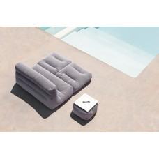 SITPOOL 2S Siège 2 places fauteuil allongeable pouf