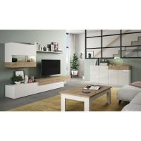 Ensemble Salon Meuble Tv Aura 205Plus Composé De 9 Eléments