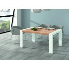 TABLE M302 fait(e) de 1 module(s) pour une largeur de 144/204cm de la collection NEO-3 finition(s) ARTISAN PIEDS POLAR